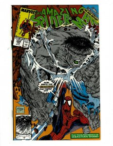 The Amazing Spider-Man # 328 NM Marvel Comic Book Aunt May Gwen Venom OF2
