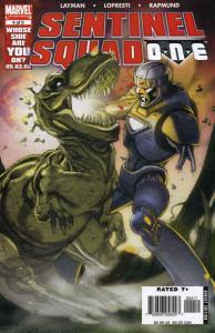 Sentinel Squad O*N*E #4 VF/NM; Marvel | save on shipping - details inside