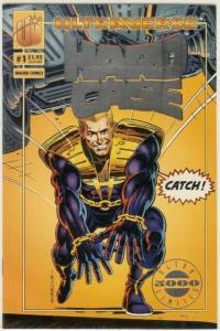 HARDCASE (1993 MA/UL) 1 (1.95 CVR) SILVER FOIL LOGO COMICS BOOK