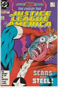 Justice League of America(vol.1) # 260  The End....?