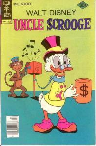 UNCLE SCROOGE 144 VF September 1977 COMICS BOOK