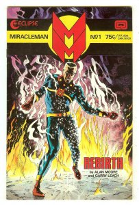 Miracleman 1   British Marvelman series   Alan Moore