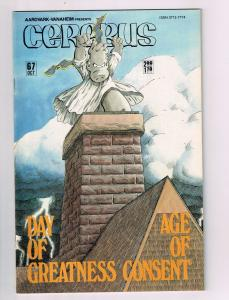 Cerebus The Aardvark # 67 NM Aardvark-Vanaheim Comic Book Dave Sim 1st Print S10