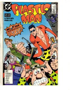 11 DC Comics Plastic Man 1 2 3 4 Outsiders 27 28 Peacemaker 1 Stranger 1 - 4 JC4