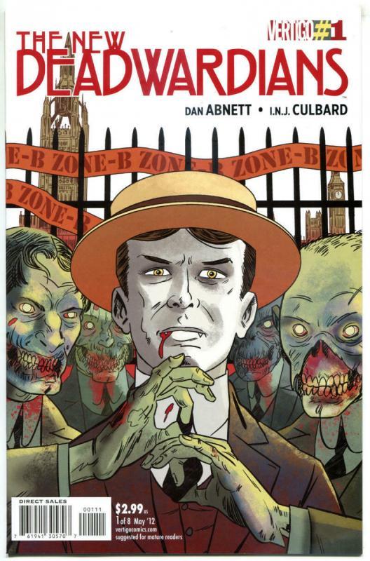New DEADWARDIANS #1 2 3 4 5 6 7 8, NM, 2012, Dan Abnett, Zombie, Vertigo,1-8 set