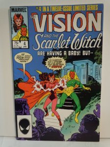 Vision and Scarlet Witch #4