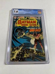 Detective Comics 400 Cgc 7.0 Ow/w Pages 1st Manbat Batman Story Neal Adams Dc