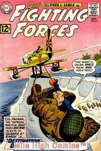 OUR FIGHTING FORCES (1954 Series) #69 Very Good Comics Book