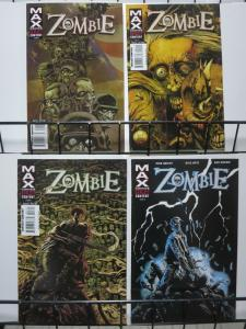 ZOMBIE (2006) 1-4  Simon Garth Lives!  complete story