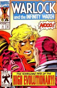 Warlock and the Infinity Watch #3, NM- (Stock photo)