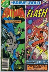 Brave and the Bold #151 ORIGINAL Vintage 1979 DC Comics Batman Flash