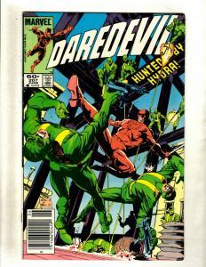 10 Daredevil Marvel Comic Books #207 208 209 213 214 215 216 217 218 220 HY2