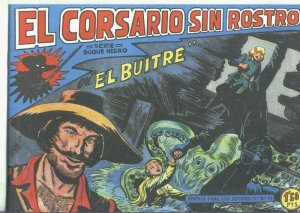 El Corsario sin Rostro, facsimil numero 14: El buitre