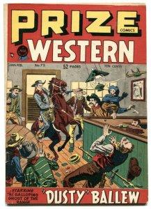 Prize Comics Western #73-1949-Bill Elder- Golden Age VG+