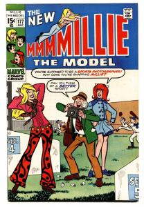 NEW MILLIE THE MODEL-#177-comic book BASEBALL COVER-FASHION PAGE-vf