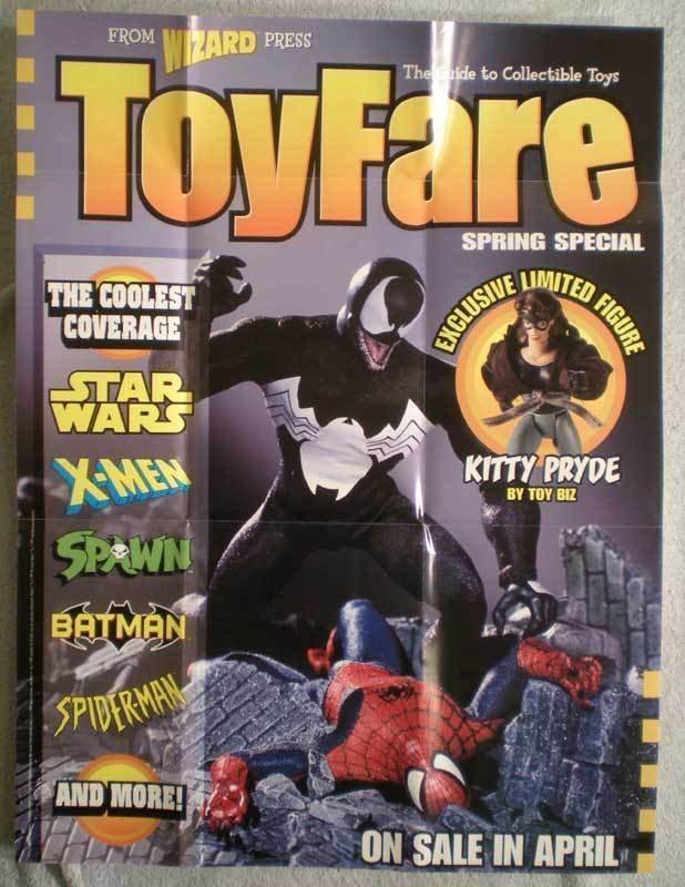 TOY FARE Promo poster, Spider-man, 19x25, 1997, Unused, more Promos in store