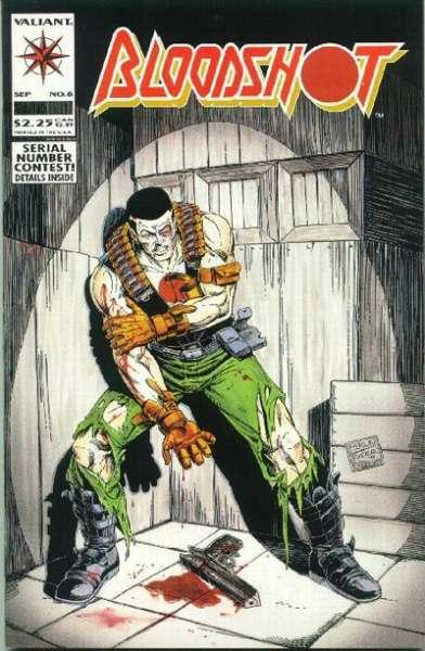 Bloodshot (1993 series) #8, NM- (Stock photo)