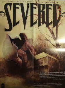 SEVERED Promo Poster, 18 x 24, 2011, IMAGE  Unused more in our store 386