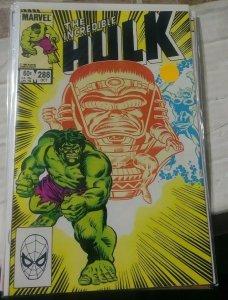 Incredible Hulk  # 286 1983 marvel  THUNDERBOLT ROSS MODOK ABOMINATION GREEN