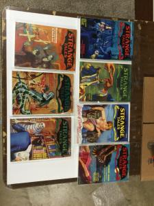 Strange Tales Girasol Pulp Reprints Nm Near Mint Lot Of 7 P20