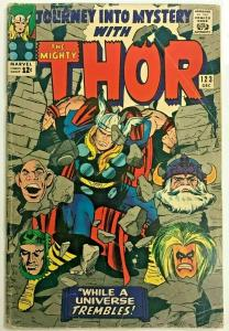JOURNEY INTO MYSTERY#123 GD/VG 1965 THOR MARVEL SILVER AGE COMICS