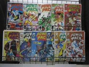 Power Pack (Marvel 1985) #13-38 Lot of 11Diff Superhero Kids Before Bedtime!