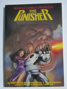 THE PUNISHER CIRCLE OF BLOOD TPB SOFT COVER GRAPHIC NOVEL 1ST PRINT NM 1988