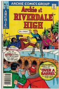 ARCHIE AT RIVERDALE HIGH (1972-1987)71 VF-NM May 1980