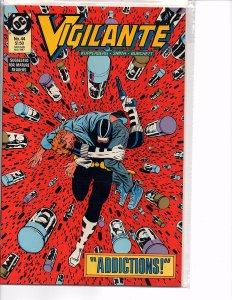 DC Comics Vigilante #44 Peacemaker Commissioner Gordon Harvey Bullock