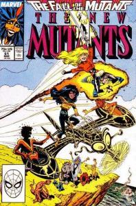 New Mutants (1983 series) #61, NM- (Stock photo)
