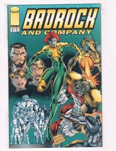 Badrock & Company #4 VF/NM Image Comics Comic Book Dec 1994 DE44