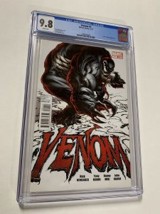 Venom 1 Cgc 9.8 White Pages Flash Thompson 2011 Marvel