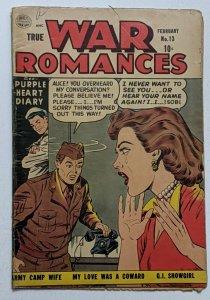 True War Romances #13 (Feb 1954, Quality) Good 2.0