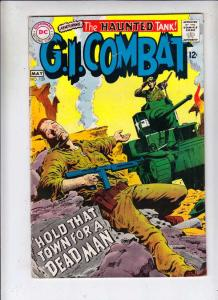 G.I. Combat #129 (May-68) VF High-Grade The Haunted Tank