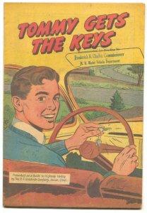 Tommy Gets The Keys -BF Goodrich Promo Comic VG