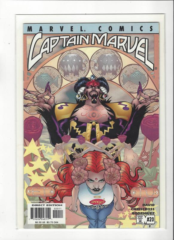 Captain Marvel #20 (2002) Marvel Comics NM