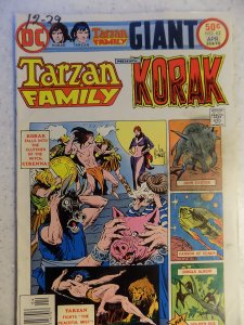 TARZAN FAMILY PRESENTS KORAK # 62 DC BRONZE JUNGLE ACTION KUBERT BURROUGHS