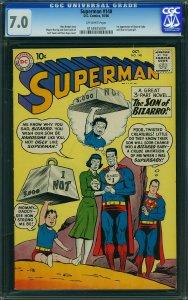 Superman #140 (DC, 1960) CGC 7.0 - KEY 1st Blue Kryptonite