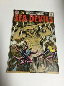 Sea Devils 5 Vg/Fn Very Good/Fine 5.0 DC Comics Silver Age