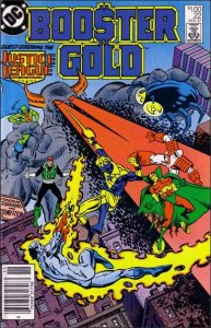 DC BOOSTER GOLD (1986 Series) #22 VF