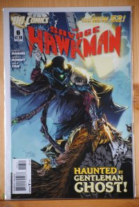 The Savage Hawkman #6 (2012)