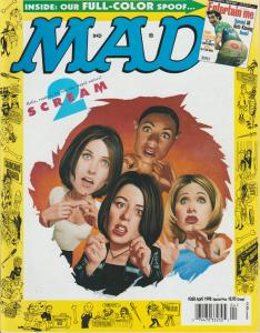 MAD MAGAZINE #368 - HUMOR COMIC MAGAZINE