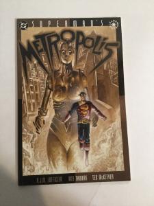 Superman's Metroplis 1 NM Near Mint