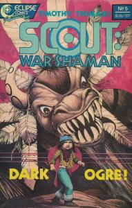 Scout: War Shaman #5 VF/NM; Eclipse   save on shipping - details inside