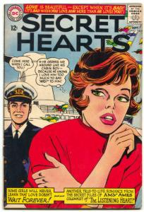Secret Hearts #106 1965- Amy Ames- DC Silver Age Romance VG+