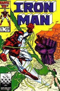 Iron Man (1968 series) #209, NM- (Stock photo)