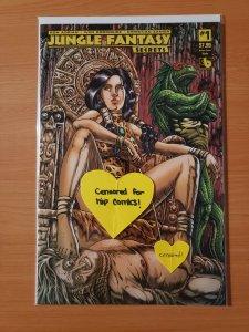Jungle Fantasy Secrets #1 Queen Sasha Nude Variant Cover