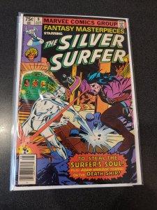 Fantasy Masterpieces Starring Silver Surfer #9 ADAM WARLOCK  FINE +