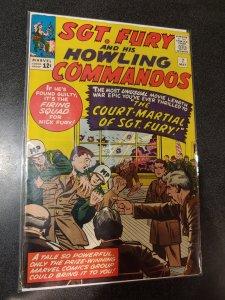 SGT.FURY AND HIS HOWLING COMMANDOS #7 HIGH GRADE