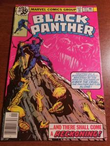 Black Panther#13 1979 Marvel Comics (Please see my other Panther Books for Sale)
